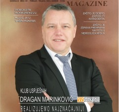 NASLOVNICA DRAGAN MARINKOVIĆ, JP PUTEVI BRČKO